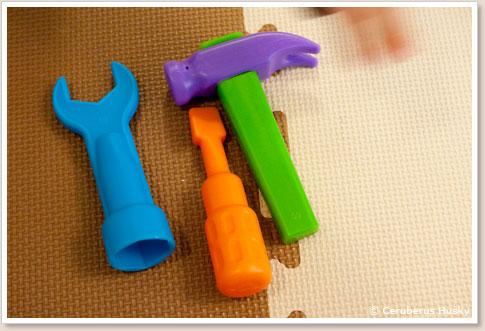 付属の工具