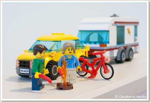 LEGO レゴ CITY シティ キャンピングワゴン 4435