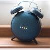 エレコム Google Home Mini 用 ClockStand クロック スタンド ブラック AIS-GHMCLBK